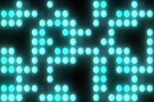 舞台背景蓝色闪光5 虚拟背景视频 演唱会背景视频下载