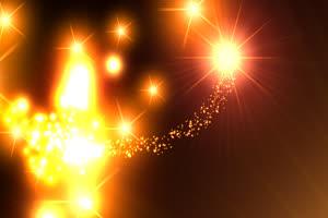 粒子 光效 魔法 透明通道免抠像 特效后期素材手机特效图片
