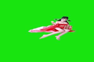 仙女  绿屏抠像 巧影素材