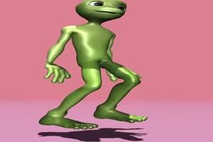 青蛙跳舞 绿幕素材 绿屏素材 热门特效手机特效图片