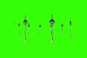 剑 旋转 绿屏素材 宝剑 万绿布和绿幕视频抠像素材
