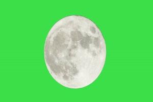 绿屏月亮 中秋节专题素材