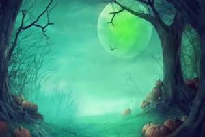 月亮绿屏视频 中秋节专题