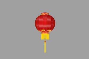 灯笼7秒 春节 新年 透明通
