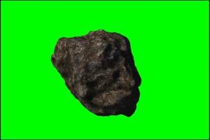 陨石3 旋转 绿屏抠像 特效素材手机特效图片
