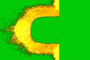 佛主 观音 菩萨 绿屏抠像绿布和绿幕视频抠像素材
