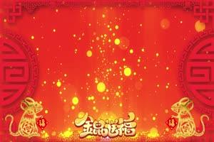 3春节节日素材 无音乐 春节新年素材 视频免费下手机特效图片