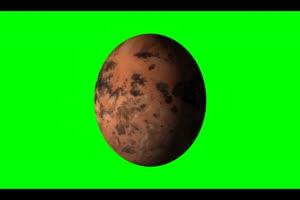 星球3 旋转 绿屏抠像 特效素材手机特效图片