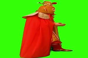 孙悟空 西游记人物 绿屏抠绿布和绿幕视频抠像素材