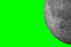 月球 月亮 旋转 旋转 绿屏抠像 特效素材手机特效图片