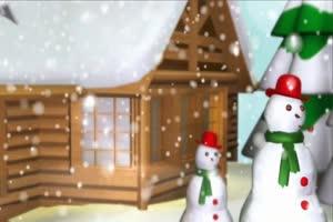 圣诞球素材 特效牛 视频素