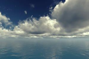 极品海天一色 海洋天空 视频背景素材 唯美至极 10