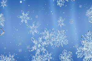圣诞节 雪花 雪花 背景素