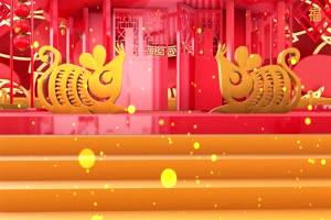 2020春节鼠年片头视频素材免费下载8手机特效图片