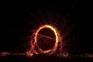 粒子传送门 魔法传送门 神奇博士 黑幕背景 叠加