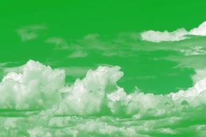 云 白云飘 天空白云 绿屏抠像手机特效图片