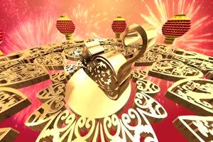 2鼠年大型晚会片头 无音乐 春节新年素材 视频免手机特效图片