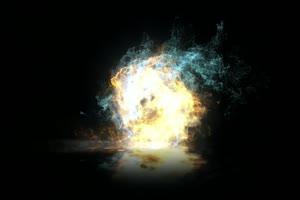 魔法光效5 能量球 八卦阵 武侠特效 特效牛 精品手机特效图片
