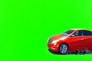 变形金刚  绿屏抠像 特效绿布和绿幕视频抠像素材