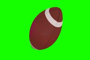 橄榄球 美式足球 体育 绿屏抠像素材手机特效图片