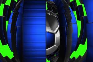 足球  体育 绿屏抠像素材手机特效图片