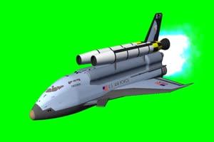 航天飞机 宇宙飞船 UFO飞船 天空科技 19  特效牛绿手机特效图片