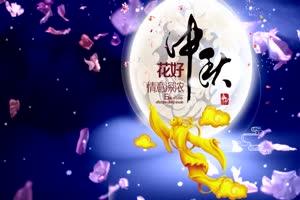 中秋嫦娥中国风有音效 背景素材 中秋节素材手机特效图片