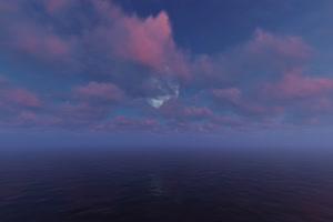极品海天一色 海洋天空 视频背景素材 唯美至极 8