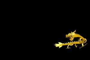 中国龙 金龙飞舞  10 透明绿布和绿幕视频抠像素材
