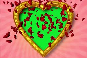 爱心 相框 绿屏抠像 巧影AE 特效素材 3手机特效图片