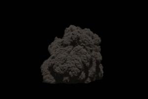 爆炸 烟雾 烟尘 炸裂 免抠像 特效素材 30手机特效图片