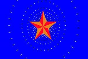 红星闪闪 国庆节 爱国 绿绿布和绿幕视频抠像素材