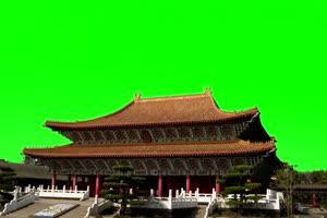 天坛 国庆节 绿屏抠像后期绿布和绿幕视频抠像素材