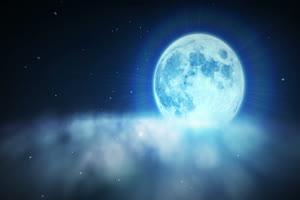 月光 背景素材 中秋节素材手机特效图片