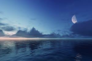 极品海天一色 海洋天空 视频背景素材 唯美至极 6