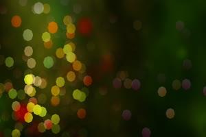 圣诞气氛粒子背景 特效牛绿布和绿幕视频抠像素材