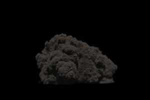 爆炸 烟雾 烟尘 炸裂 免抠像 特效素材 1350手机特效图片