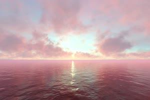 极品海天一色 海洋天空 视频背景素材 唯美至极 2