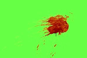 血迹 流血 绿布抠像 特效视频 巧影素材10手机特效图片
