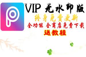 美易Picsart 无水印VIP版本  VIP免费下载 提取码: