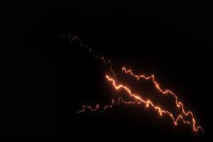 闪电 电光 透明通道 专业抠像 特效素材PR AE 10手机特效图片