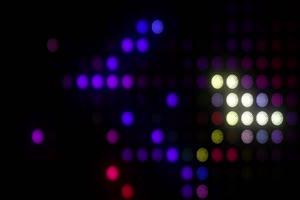 舞台背景彩色图形闪光9绿布和绿幕视频抠像素材