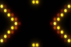 舞台背景黄色图形闪光7