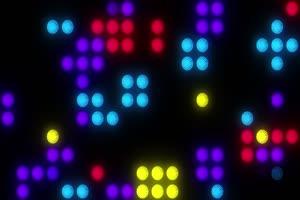 舞台背景彩色图形闪光8