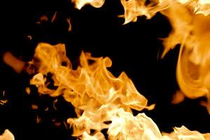 真实火焰转场 过渡视频特效 抠像2手机特效图片