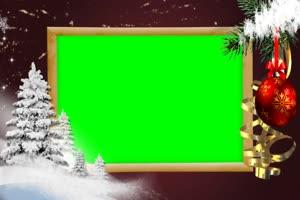 圣诞节相框
