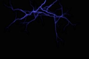 4K闪电 雷击 电击 透明通道