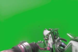 守望先锋10 毛妹阿贡 特效抠像 绿屏抠像视频手机特效图片