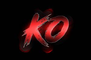 拳皇KO 对战 带通道 后期绿布和绿幕视频抠像素材