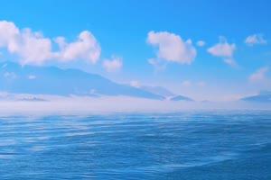 海浪 海水 蓝天4 背景视频手机特效图片